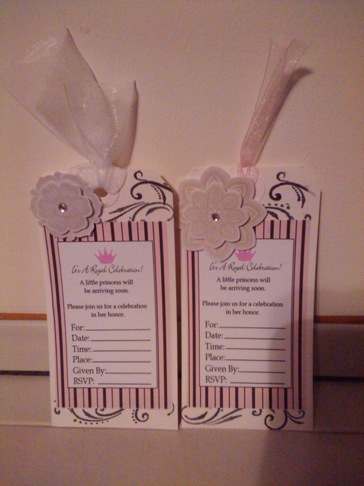 160 best Homemade baby shower invitation images on Pinterest ...