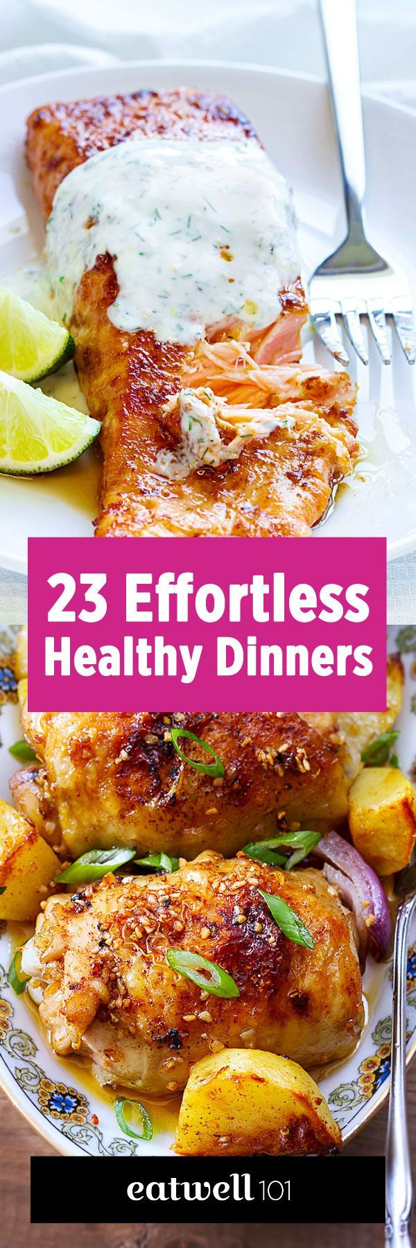 43 Low Effort and Healthy Dinner Recipes – Katherine Clayholt