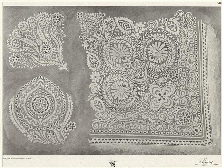 Embroidery/cut work design. Good for card design ideas?