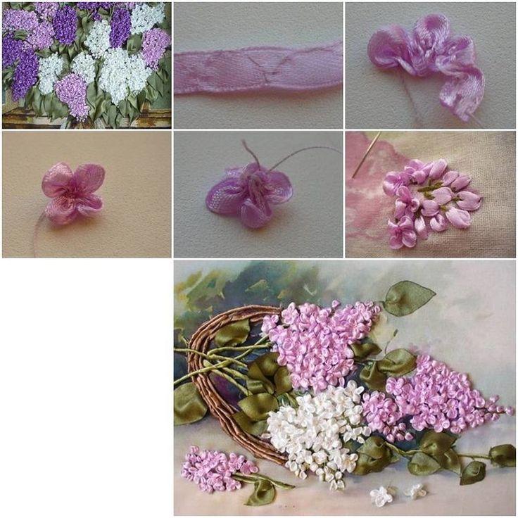 Wyszywanie - piękne kwiaty