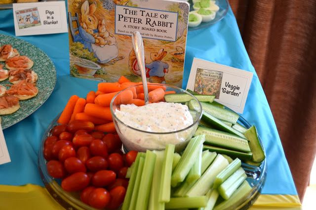Bookworm Birthday Party Food and menu ideas