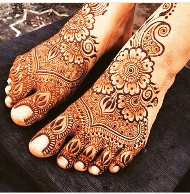 Henna for leg