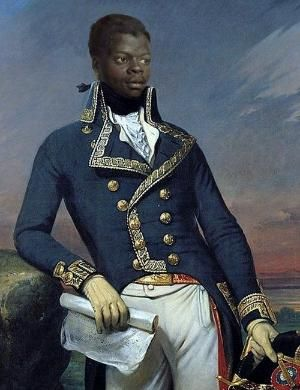 Toussaint Louverture (1743 – 1803) Leader of the Haitian independence movement during the French Revolution, who emancipated the slaves and briefly established Haiti as a black-governed French protectorate. by eve