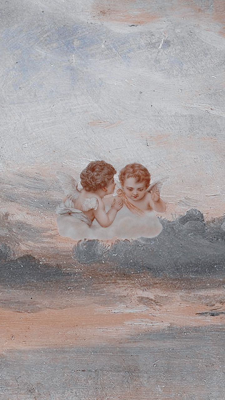 Aesthetic Wallpaper Painting Wallpaper Aesthetic Wallpapers Angel Wallpaper
