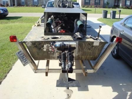 Mudboat Surface Drive Prototype Outboard Motors Pinterest