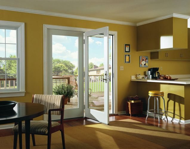 Andersen Hinged Patio Door No Grids Sound View Window
