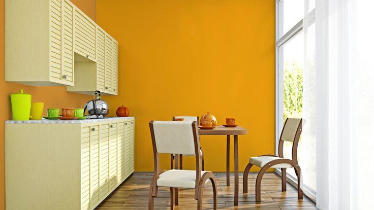 Ciptakan Kesan Lapang dengan Orange