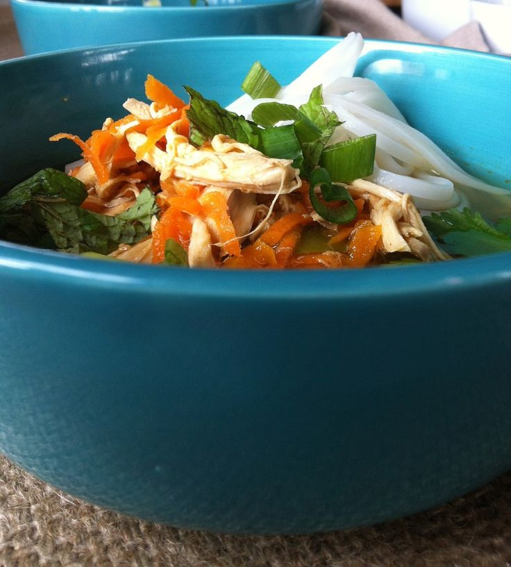 Soup - Spicy Asian Chicken And Noodle Soup
