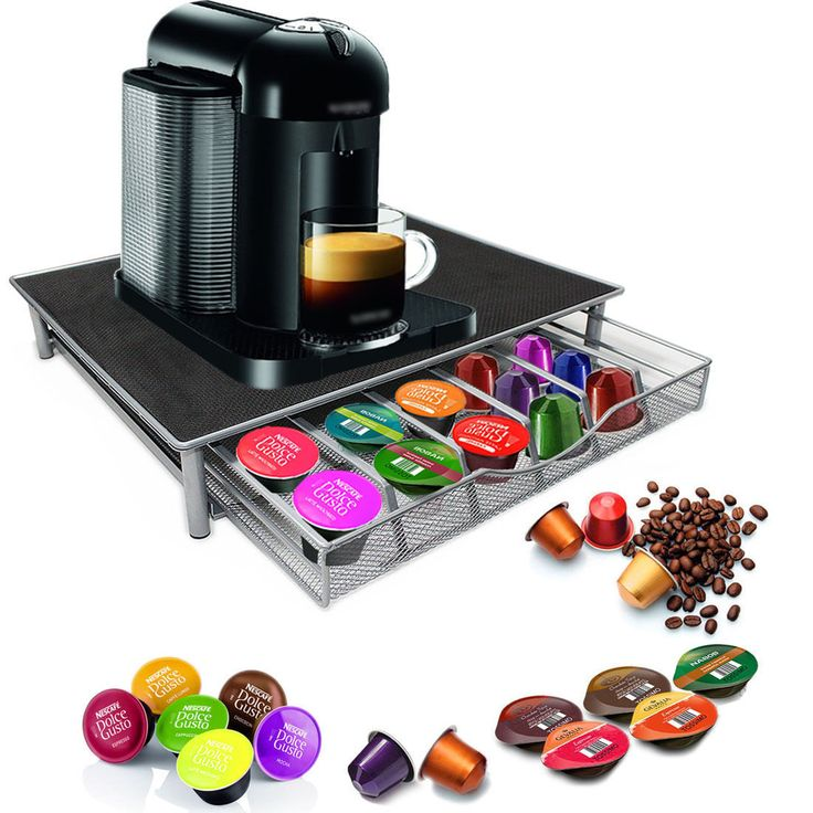 The enhanced design of the Coffee Capsules Tray Mesh Wide easily stores up to 25 coffee capsules and is easy to slide in and out to get the pod you want. Holds up to 25 coffee capsules of 55mm each. … Continue reading →