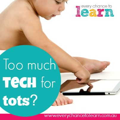 Techno-tots: should babies be using technology?