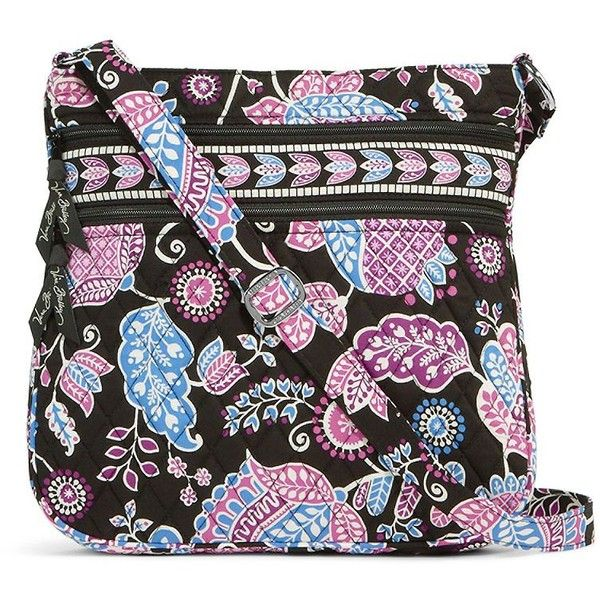 Vera Bradley Triple Zip Hipster (810.840 IDR) ❤ liked on Polyvore featuring bags, handbags, shoulder bags, alpine floral, floral purse, pocket purse, floral shoulder bag, crossbody shoulder bags and crossbody handbags