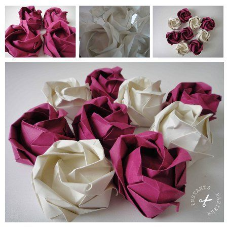 1000 ideas about origami rose on pinterest origami flowers origami and origami flowers tutorial. Black Bedroom Furniture Sets. Home Design Ideas