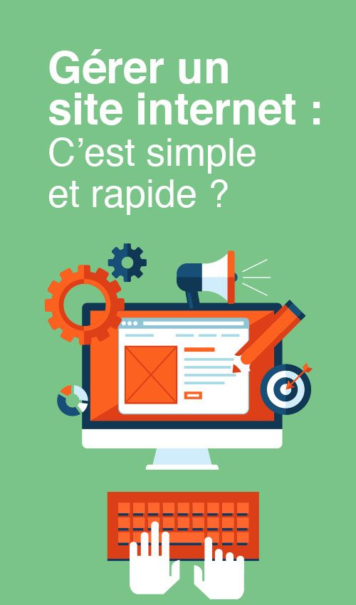 Gerer un site internet : c'est simple et rapide ?  - Article du blog de www.resonancecommunication.com agence web à Carcassonne