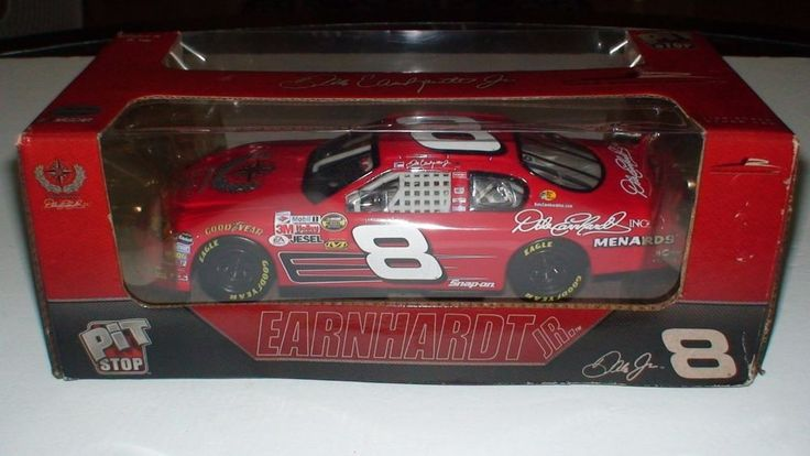 DALE EARNHARDT JR #8 PIT STOP RED CHEVY NASCAR DIECAST 1:24 #Unbranded #Chevrolet