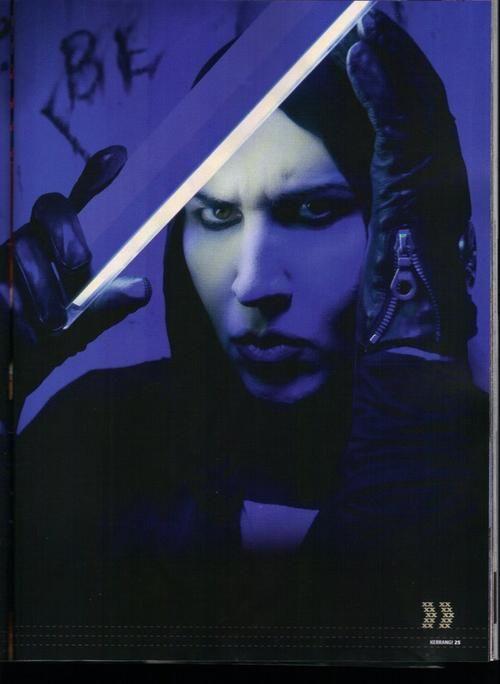 How Marilyn Manson Inspires me Paper