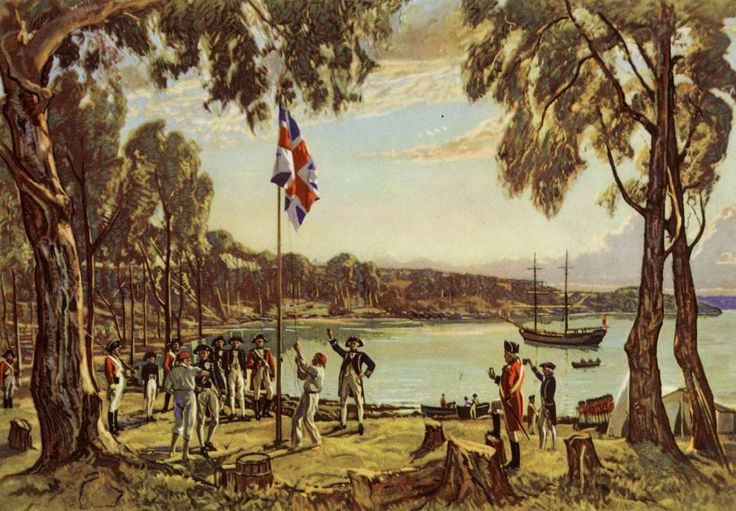 January 26,  1788: Founding of Australia  -   The first European settlers in Australia, led by Capt. Arthur Phillip of the Royal Navy, landed in present‐day Sydney. This day is commemorated as Australia Day.