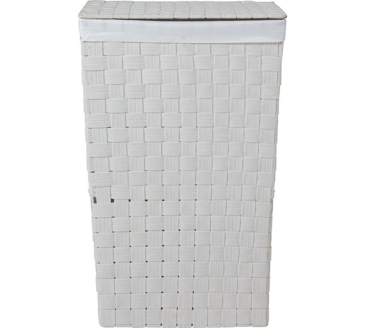 Buy ColourMatch 60 Litre Yarn Laundry Bin - White at Argos.co.uk, visit Argos.co.uk to shop online for Linen baskets and laundry bins, Bathroom accessories, Home furnishings, Home and garden