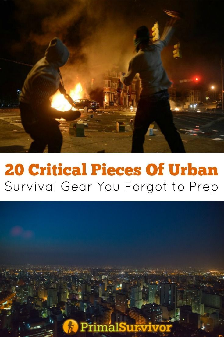 81 best urban survival images on pinterest survival skills urban 20 critical urban survival gear you forgot to prep fandeluxe Images