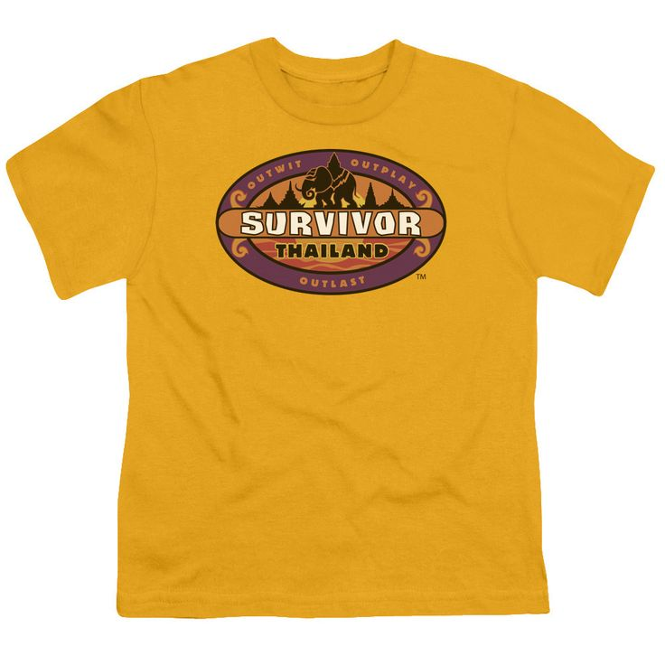 SURVIVOR/THAILAND - S/S YOUTH 18/1 - GOLD -