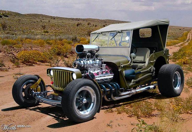 pictures of jeeps | Matéria Incógnita – Inovação e Criatividade » Um jeep Willys ...