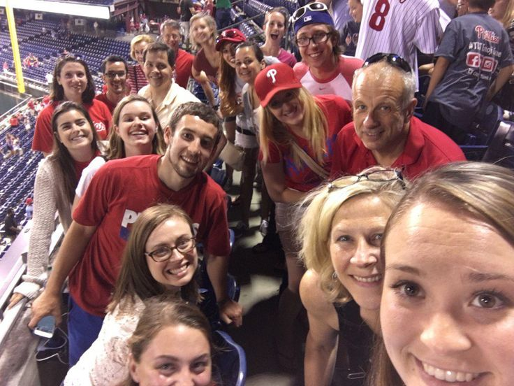 Buchanan PR: FROM time to time, work involves expeditions off-site, such as in this group selfie posted by the staff of Buchanan PR, a Philadelphia based PR agency, who are enjoying a fun team-building day out to Citizens Bank Park, the home of the Philadelphia Phillies.