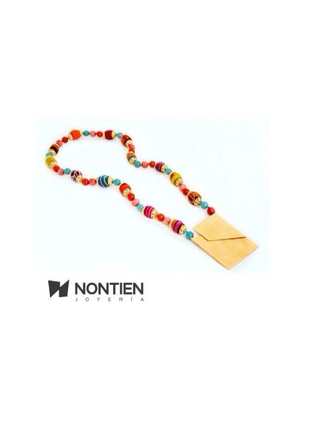 #ColeccionPrismaSolar #NONTIEN Joyería. Elaborada el telar manual, cobre  enchapado en oro de 24k Colombia, identidad Cultural.