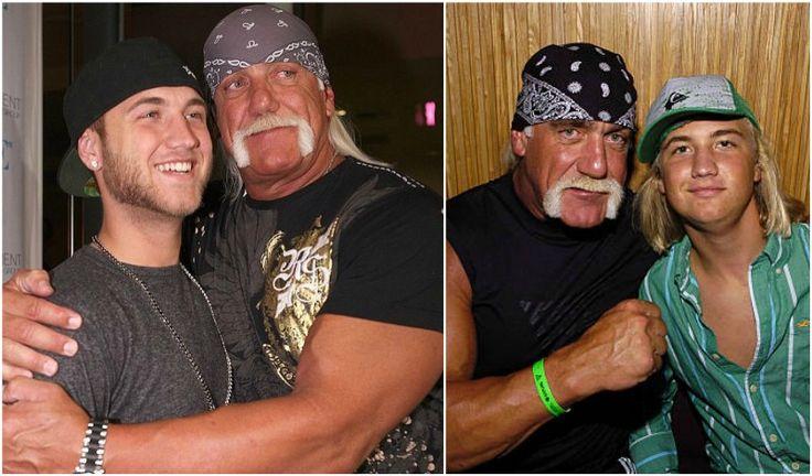 Hulk Hogan's kid - son Nick Hogan