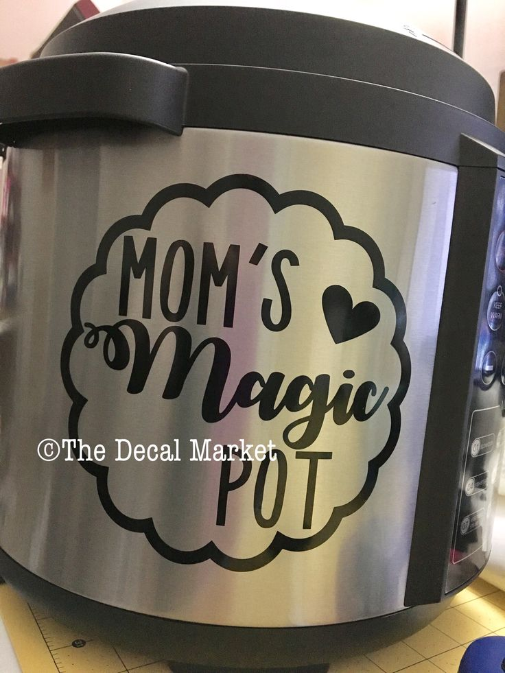 Instant pot decal moms magic pot