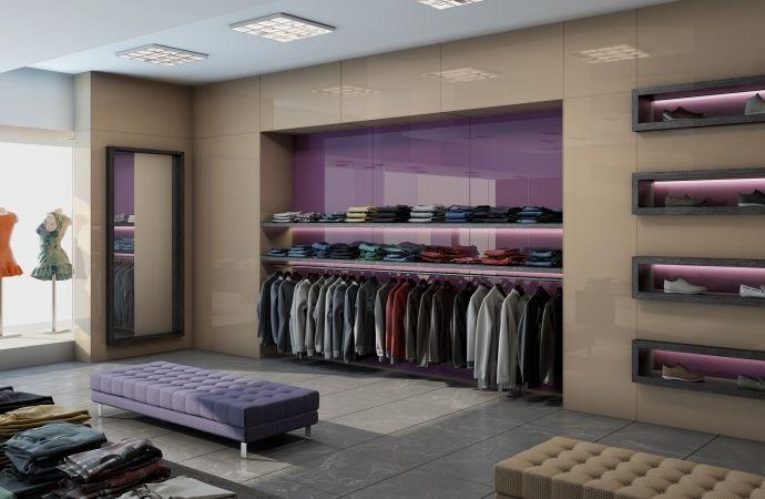 Retail interior featuring Seratone Escape Princess and Seratone Escape Gold Digger