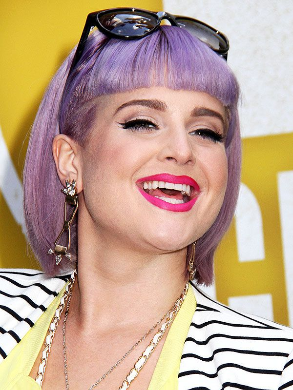 Kelly Osbourne My Lavender Hair Color Has Become Me Plus