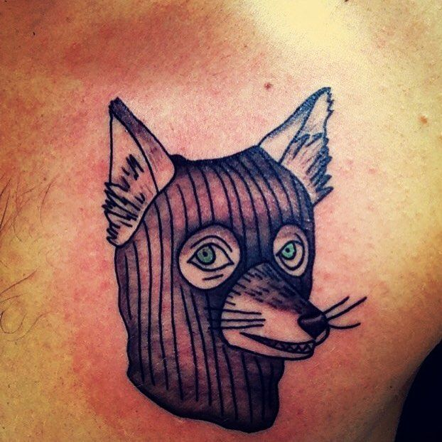 One of two Fantastic Mr. Fox tattoos I have. Art by Toph @ Enigma Tattoos & Piercing in StL MO