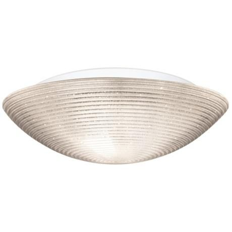 "Besa Glitter 18"" Wide Glitter Ceiling Light -   at lamps plus"
