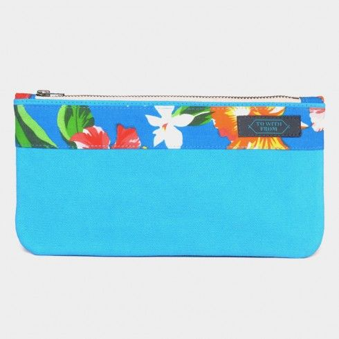 Turquoise Okinawa Pouch Online at Tadpole Store