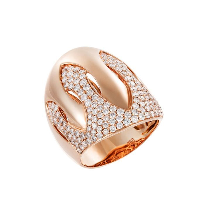 Demarco 18K Rose Gold & Diamond Ring, 1.67 Ctw (=)