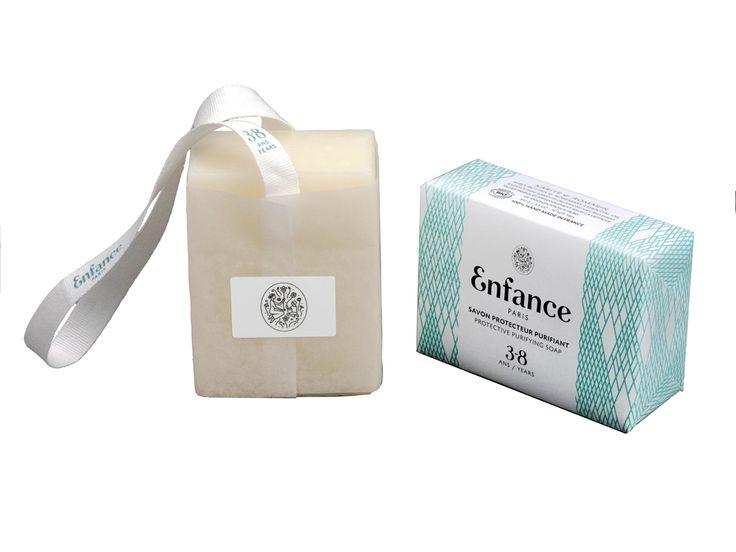 Doux Good - Enfance Paris - savon protecteur purifiant 3-8 ans - emballage papier