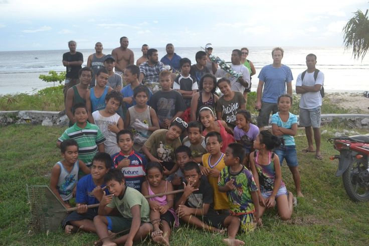 Nauru Surf Club//Nauru is a small island in the south-west Pacific Ocean that has a thriving surfing community. Pictured are members of the Nauru Surf Club that is designed to make Surfing available to the community regardless of social or financial status. Photo: Nauru Surf Club