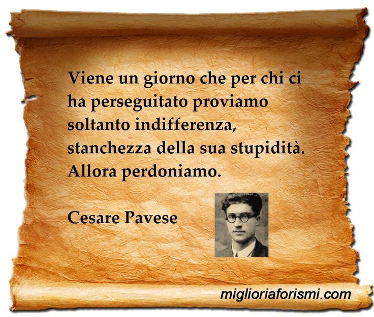 Cesare Pavese - Aforismi e Frasi
