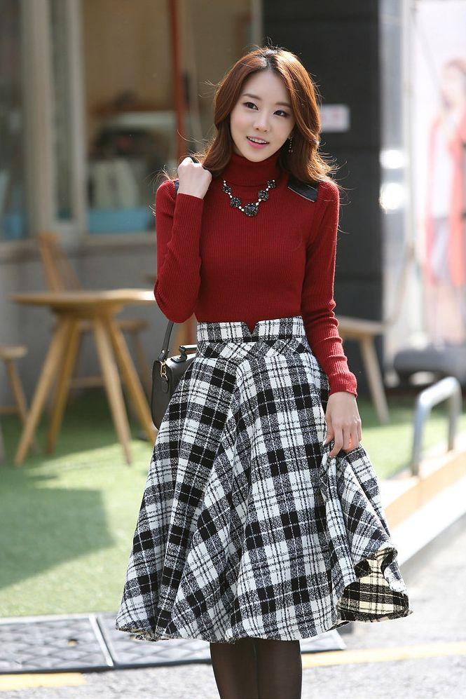 Moda Coreana 25 Modelos De Faldas Para Chicas Mundo