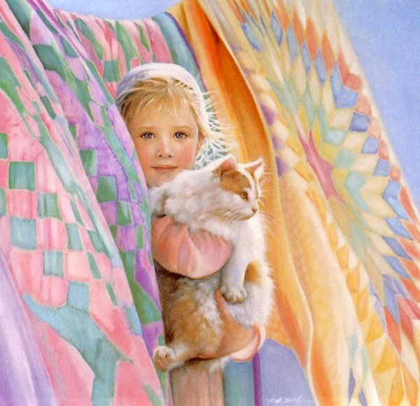 """Colors of Summer"" by Nancy Noel (American) 