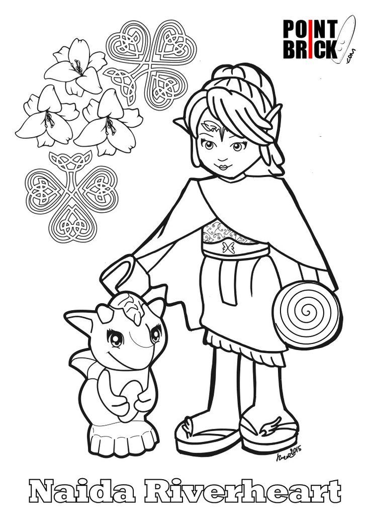 Disegni da colorare lego kylo ren e naida riverhe coloring pages disegni da colorare lego for Disegni calciatori da colorare per bambini