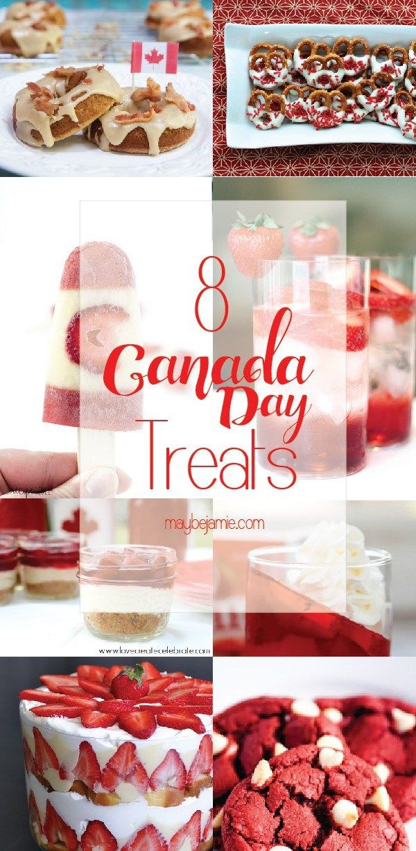 Eight Canada Day inspired treats to wow the crowd this coming Canada Day!