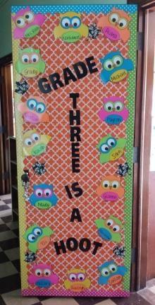 Owl Themed Back To School Bulletin Board Idea