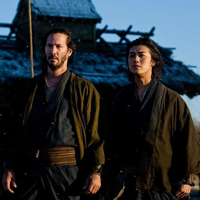 Keanu ♡♥ Reeves in 47 Ronin