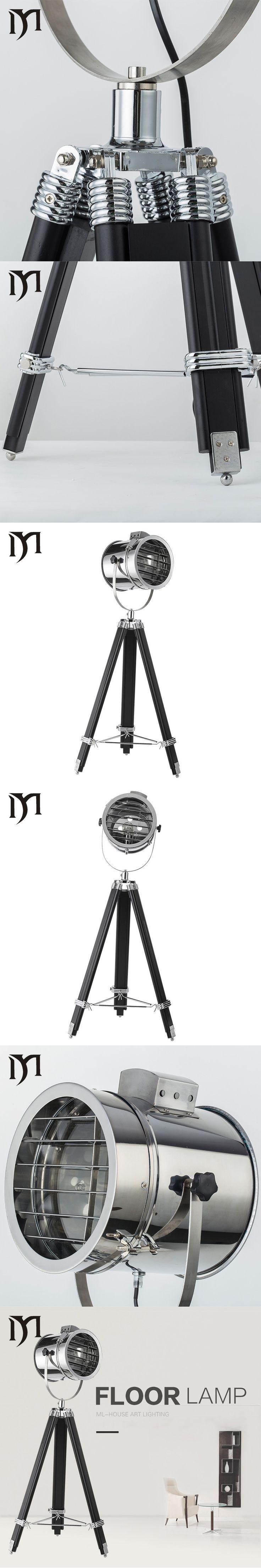 Tripod LED Floor Lamp Led Bulb Lamp Modern Stand Light Indoor Lighting for Living Room Study Bedside Reading Piano Lamp