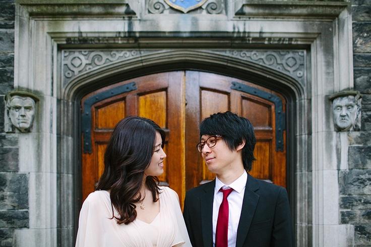 Classic South Korean Toronto Engagement Photographer