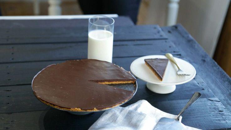 Tarte choco-amandes sans cuisson | Cuisine futée, parents pressés