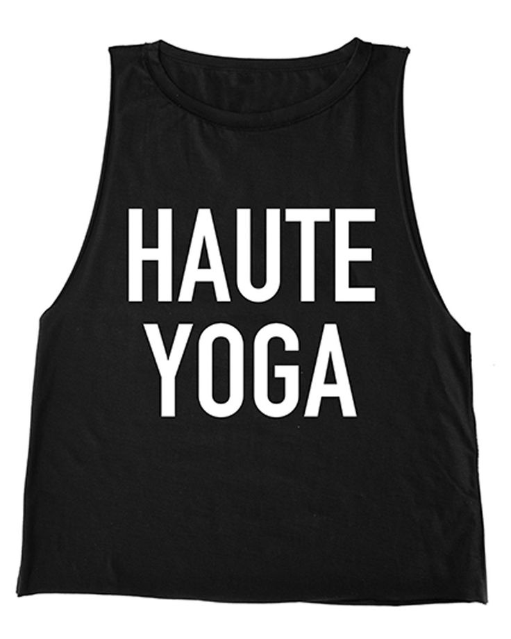 Haute Yoga Tank Top from The Shopping Bag