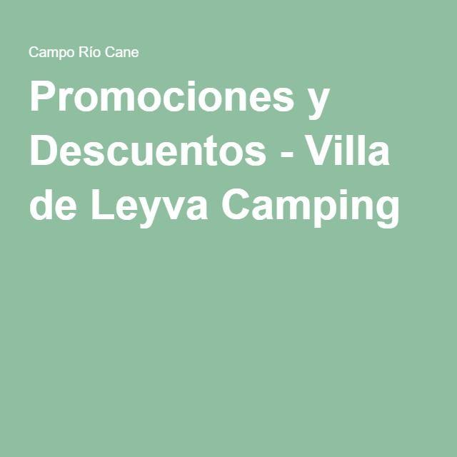 Promociones y Descuentos - Villa de Leyva Camping