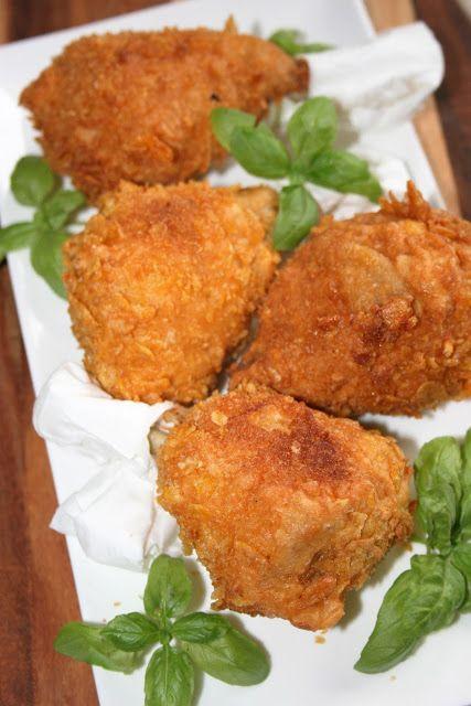 sio-smutki! Monika od kuchni: Kurczak z rosołu smażony w cieście