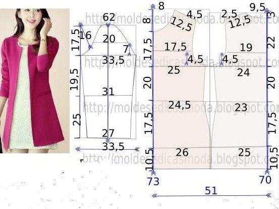 Tổng hợp chart may váy suông cho nàng béo bụng chọn may10
